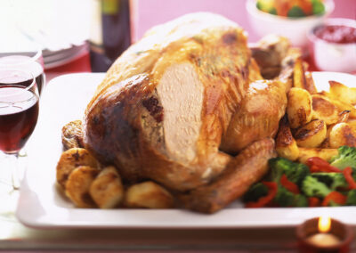Phil Vickery's Roast British Turkey with Lemon Butter & Cranberry Stuffing