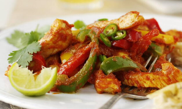 Easy Tasty Turkey Jalfrezi