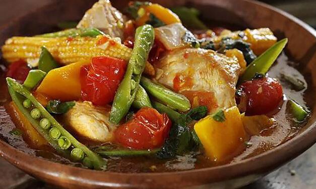 Leftover Moroccan Turkey and Harissa Stew