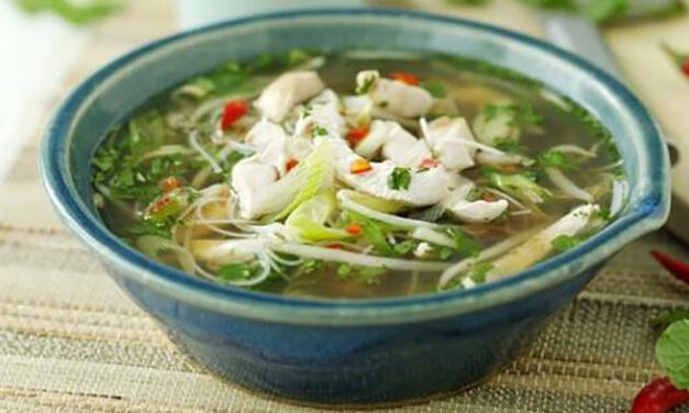 Phil Vickery's Fragrant Turkey Pho