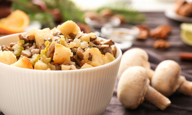 Mushroom & Bacon Stuffing