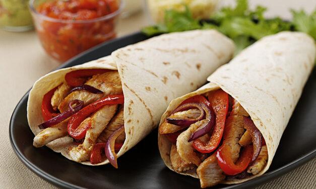 Spiced Turkey Tortillas