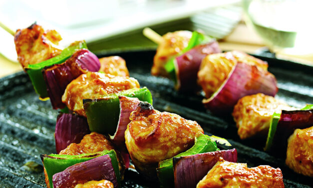 Sticky Turkey Kebabs