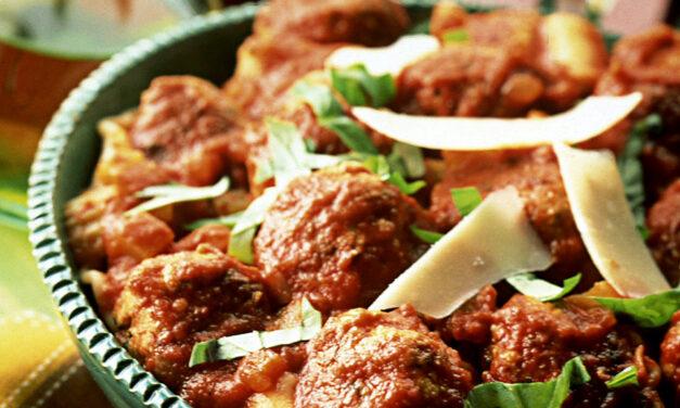 Turkey Meatballs in Passata Sauce