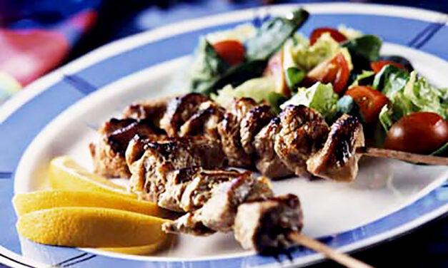 British Turkey Tikka Kebabs